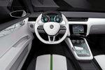 Skoda VisionD Design Konzept Concept Car Kompakt Interieur Innenraum Cockpit