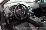Cargraphic Aston Martin V8 Vantage 420 Test - Innenraum Cockpit Mittelkonsole Lenkrad