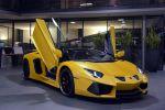 Hamann Lamborghini Aventador Roadster Limited 6.5 V12 Supersportwagen Tuning Leistungssteigerung Zwölfzylinder Aerodynamik Carbon Front Seite
