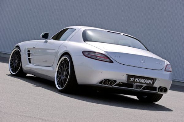 hamann mercedes sls amg feine optik und beste stra enlage speed heads. Black Bedroom Furniture Sets. Home Design Ideas