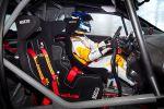 Opel Adam R2 Concept - Innenraum Cockpit Schalensitze Rennsitze Sitze Lenkrad LCD Überrollkäfig Käfig