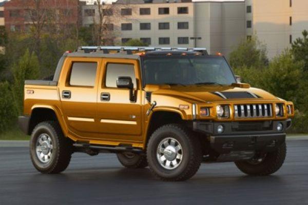 Heiße Sonderedition: Hummer H2 Fusion Orange - Speed Heads