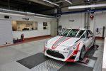 Toyota Motorsport GmbH TMG TTE Toyota Team Europe Köln Fahrwerkssprüfstand Toyota GT 86 Cup CS-V3 Front