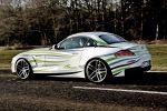 AC Schnitzer 99d BMW Z4 Efficient Performance Diesel Retraction Concept Car Heck Seite Ansicht