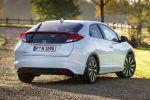 Honda Civic 2014 Schrägheck Fünftürer Magic Seats 1.6 i-DTEC Diesel 1.8 i-VTEC Benzinmotor Heck Seite