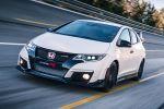 Honda Civic Type R 2015 Kompaktsportler Street Racer 2.0 i-VTEC Turbo Benzinmotor Hot Hatch +R Modus GT Pack Front Seite