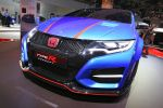 Honda Civic Type R 2015 Prototyp Kompaktsportler Street Racer 2.0 i-VTEC Turbo Benzinmotor Steer Axis Hot Hatch Front