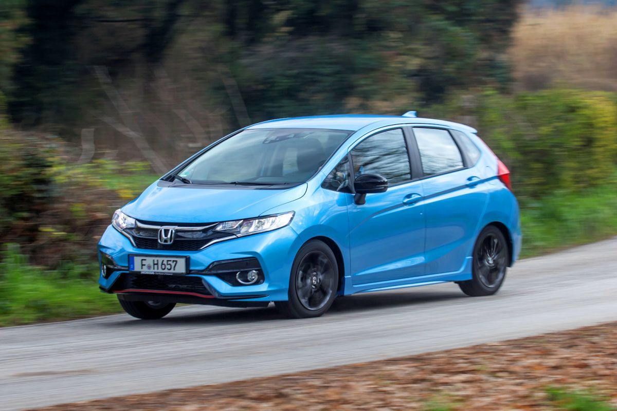 honda jazz dynamic test der praktischste mini sportler speed heads