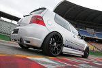 HPerformance VW IV Golf R32 VR6 Leistungssteigerung Tuning HPA Turbokit EFR550 HRE FF01 Rad Felge Heck Seite