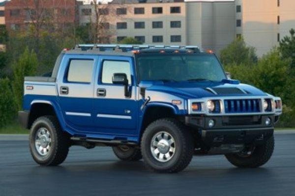 Hummer H2: Blau im Gelände unterwegs - Speed Heads