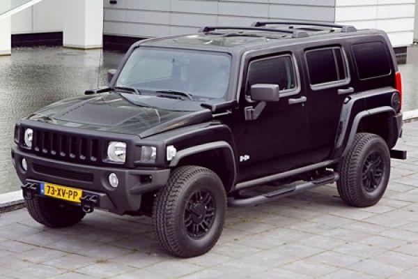 Hummer H3 Black Edition: Tiefschwarz und limitiert nach Europa ...