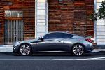 Hyundai Genesis Coupe 2014 Facelift 3.8 V6 2.0T Turbo Sportler Sportwagen Seite