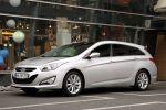 Hyundai i40 Kombi 2014 GDI CRDI CRDI FlexSteer Comfort Style Premium Front Seite