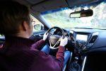 hyundai veloster turbo style test - city coupe kurven exot sportler sportwagen rennsemmel fahrbericht interieur innenraum cockpit christian brinkmann
