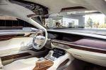 Hyundai Vision G Coupe Concept V8 Oberklasse Luxusklasse Remote Wheel Touchpad Interieur Innenraum Cockpit