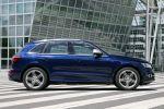 audi sq5 tdi test - quattro allrad performance suv 3.0 v6 biturbo diesel drive select comfort dynamic sport mmi navigation plus side assist active lane assist seite ansicht