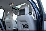 Volvo S80 V8 AWD Test - Innenraum Ansicht hinten Sitze Bildschirme Multimedia