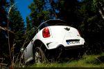 Mini Countryman R60 Cooper S All 4 Test - Heck Ansicht hinten Heckleuchten Rücklicht Scheinwerfer hinten