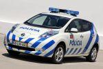 Nissan Leaf Polizei Portugal EV Electric Vehicle Elektroauto Policia de Seguranca Publica PSP Front Seite Ansicht