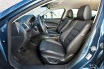 mazda 6 kombi sports-line test - wagon 2013 2.5 skyactiv-g i-eloop kondensator pre crash rvm afs scbs hbc ldws interieur innenraum cockpit