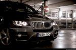 BMW X6 35d Test - Front Ansicht vorne Kühlergrill Frontscheinwerfer Stoßstange