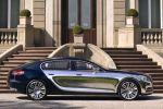 Bugatti 16 C Galibier Concept Limousine viertüriges Coupe FlexFuel Bioethanol 8.0 W16 Seite Ansicht