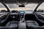 Infiniti Q50 2016 Sport Limousine 3.0 V6 Twinturbo Biturbo Dynamic Digital Suspension DDS Direct Adaptive Steering DAS Drive Mode Selector DMS Active Lane Control RACK Interieur Innenraum Cockpit
