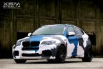 Inside Performance BMW X6 M Stealth SAV Sports Activity Vehicle SUV 4.4 V8 Biturbo Front Seite