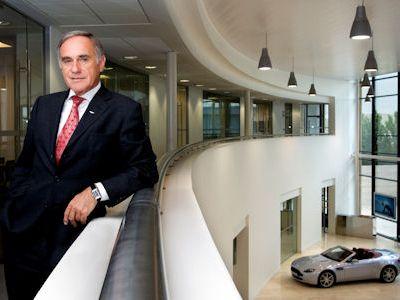 Interview Dr. Ulrich Bez Aston Martin Chef Boss CEO Rapide Cygnet V12 V8 Vantage DB9 DBS Gaydon