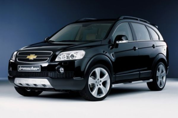irmscher chevrolet captiva der markante suv im eleganten. Black Bedroom Furniture Sets. Home Design Ideas