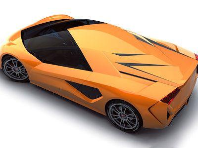 Italdesign Giugiaro Frazer Nash Namir Hybrid Sportwagen