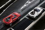Italdesign Giugiaro Parcour Roadster Crossover SUV Sportwagen 5.2 V10 Lamborghini Heck Seite Ansicht