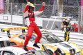 Jaap van Lagen bejubelt seinen ersten Sieg in Monaco