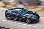 Jaguar F-Type R Coupé V8 Kompressor Launch Control Sportwagen Dynamik EAD Differential Differenzial Torque Vectoring by Braking Adaptive Dynamics SportShift DSC Front Seite