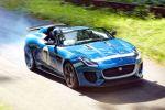 Jaguar Project 7 F-Type D-Type 5.0 V8 Sportwagen Speedster Roadster Goodwood Festival of Speed Front Seite