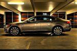 Jaguar XF 4,2 V8 Test - Seite Ansicht seitlich Felge vorne hinten