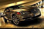 Jaguar XF 4,2 V8 Test - Front Ansicht vorne Frontscheinwerfer Felge vorne