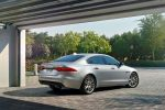 Jaguar XF Prestige 2016 20d 30d Diesel 35t V6 Benzin Sportlimousine X260 AWD Allrad Torque Vectoring InControl Touch Pro Infotainment Smartphone App Adaptive Dynamics Adaptive Surface Response AdSR Heck Seite