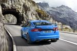 Jaguar XFR-S Sport Limousine Performance 5.0 V8 Kompressor Varuna Quickshift Heck Ansicht