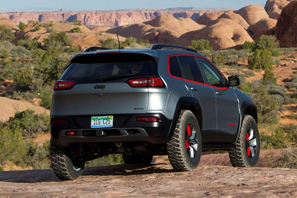 Jeep Cherokee Dakar: Der extremste Cherokee aller Zeiten ...
