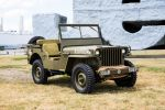 Jeep Willys MB 2.2 Benziner Offroad Geländewagen Militär Oliv Lackierung Front Seite
