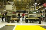 Jeep Wrangler 75th Salute 3.6 Pentastar V6 Offroad Geländewagen Willys MB Militär Oliv Lackierung Front Seite