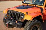 Jeep Wrangler Mojo Orange Rubicon Trail Rock Trac Shorty Beadlock Mud Terrain 3.6 Pentastar V6 Offroad Geländewagen Katzkin Leder Front Seilwinde
