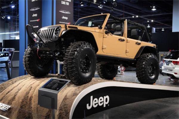 jeep wrangler sand trooper hardcore offroader von mopar. Black Bedroom Furniture Sets. Home Design Ideas