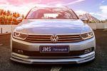 JMS VW Volkswagen Passat Variant B8 Kombi Tuning Racelook Exclusive Line Felgen Rad Barracuda Challenge Inferno Gewindefahrwerk Front