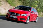 mercedes benz a 250 blue efficiency amg sport test - a-klasse kompaktklasse 2.0 vierzylinder turbo benziner 7g-dct doppelkupplungsgetriebe xtc extended traction control collision prevention assist distronic plus pre-safe attention assist parkassistent internet front seite ansicht