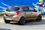 Opel Corsa Color Elegance 150 Jahre Benzin CDTI Turbo Diesel Heck Seite Ansicht