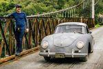 Porsche 356 Matt Hummel Scheunenfund Patina Oldtimer Front