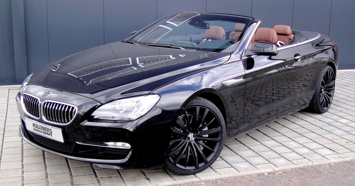 kelleners bmw 6er cabrio offene dynamik in starker form. Black Bedroom Furniture Sets. Home Design Ideas