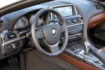 BMW 6er Cabrio Modelljahr MY 2012 640i 650i Innenraum Interieur Cockpit EfficientDynamics TwinPower Turbo Dynamic Drive DSC CBC DBC Black Panel iDrive Night Vision ConnectedDrive